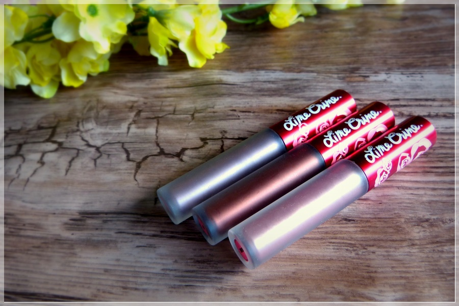Lime Crime metallic bundle Review