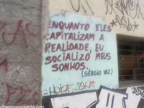 Frase de Sérgio Vaz
