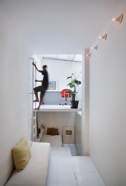 Kitnet ou Quitinete minúscula de 20m². Blog Achados de Decoração