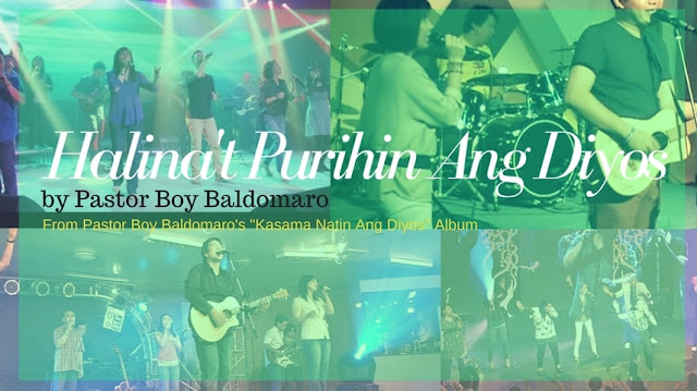halinat purihin ang Dios chords and lyrics by pastor boy balodmaro
