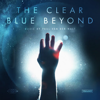 "Official album cover art design (CD front cover) for Paul Van Der Walt's debut album, ""The Clear Blue Beyond"", scheduled for release on the 3rd of May, 2019"