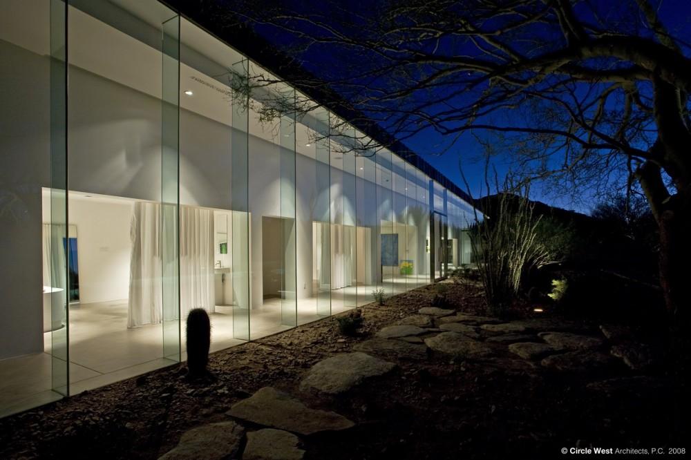 Glazed Walls House Arizona Usa Most Beautiful Houses In