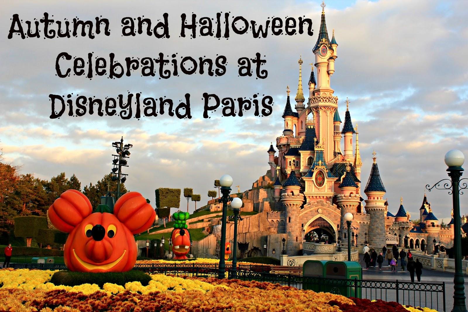 autumn and halloween celebrations at disneyland paris | shy, strange