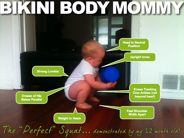 How to do squats Bikini Body Mommy