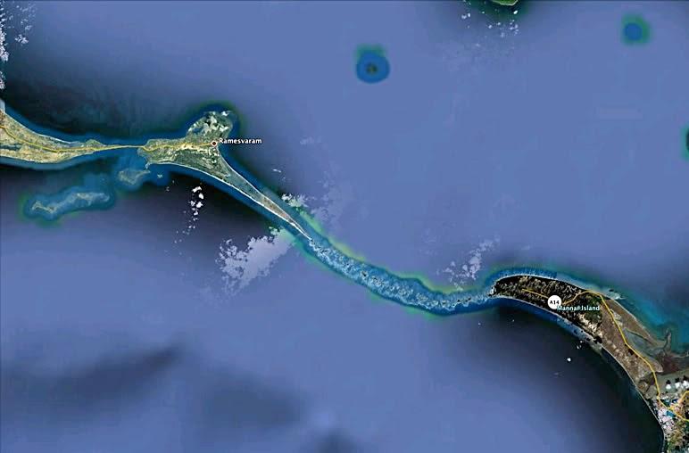 NASA Images Find 1,750,000 Year Old Man-Made Bridge