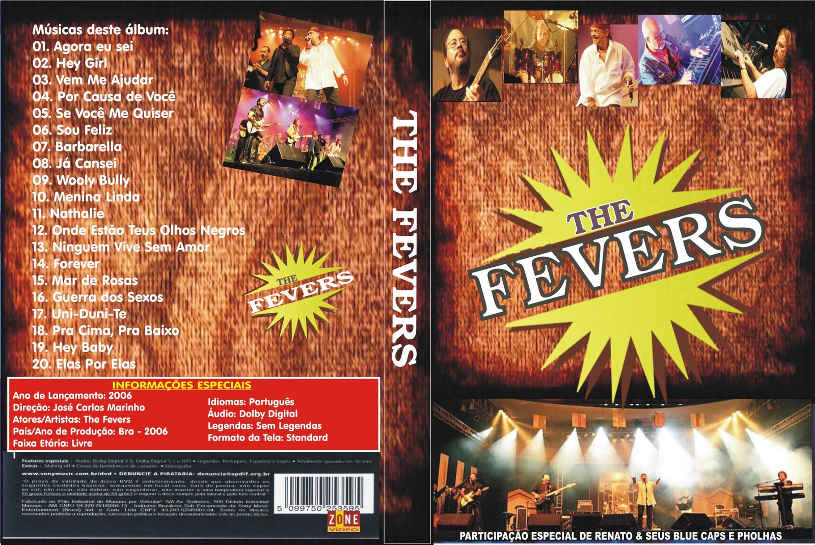 dvd the fevers