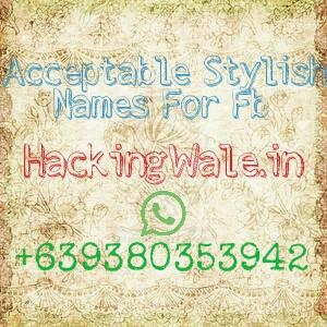 Stylish names id