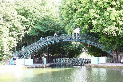 escenario novela romántica 1 canal saint martin parís