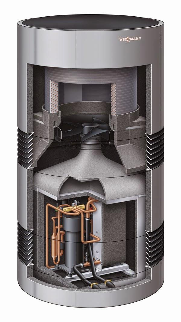 viessmann vitocal 300 a une pompe chaleur air eau ultra performante et silencieuse elyotherm. Black Bedroom Furniture Sets. Home Design Ideas