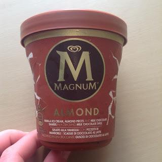 magnum almond tub ice cream