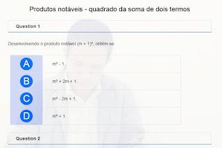 http://www.auladoguto.com.br/exercicios-online-de-matematica/exercicio-online-produtos-notaveis-quadrado-da-soma-de-dois-termos