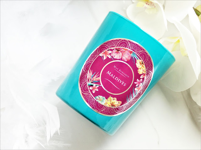 avis Ocean Islands - Maldives de Max Benjamin, bougie parfumée, bougie monoi, bougie été, avis bougie max benjamin, ma jolie bougie, blog bougie, candle blog, candle review