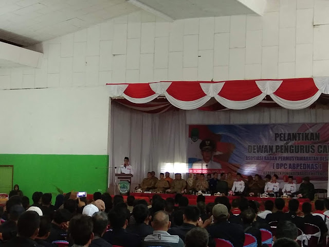 DPC ABPEDNAS Kabupaten PALI Resmi Dilantik