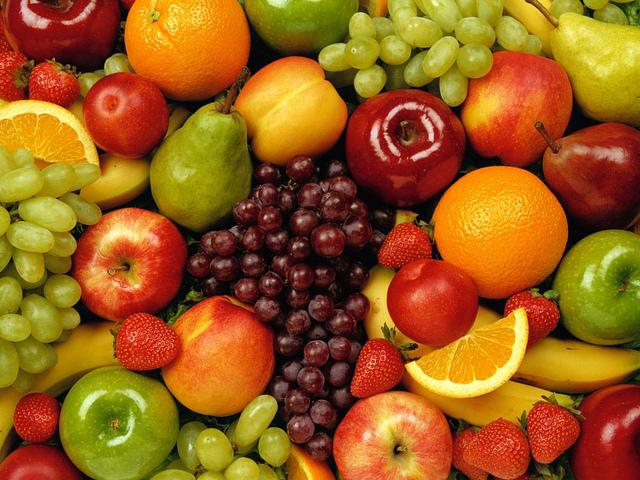 calorias de la fruta