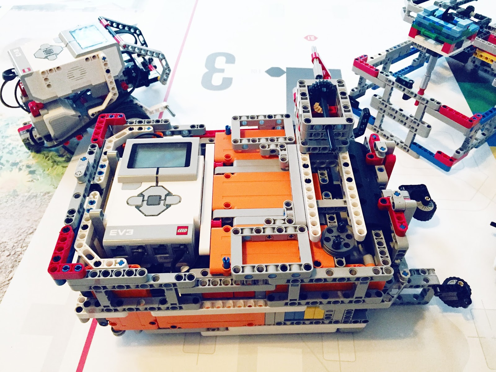 Different EV3 Robot Configurations | Mindstorms | Robotics Summer Camps Dallas