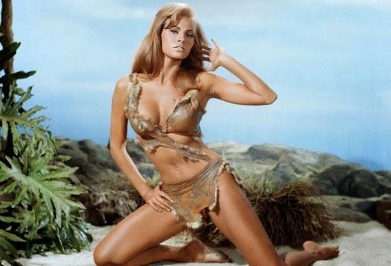 raquel welch wearing a bikini sexy
