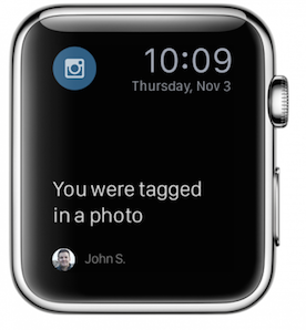 Instagram leave Apple Watch