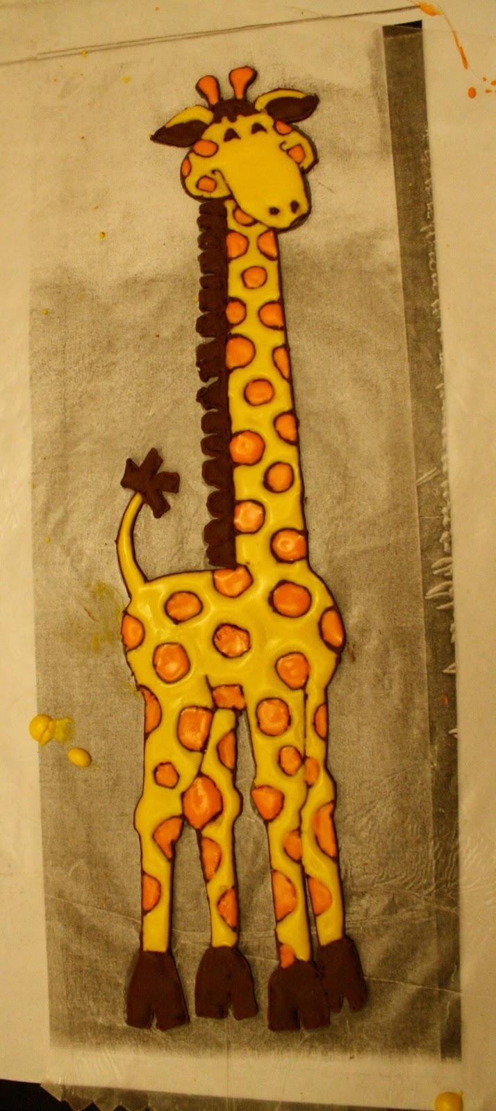 How Sweet It Is Giraffe Cake