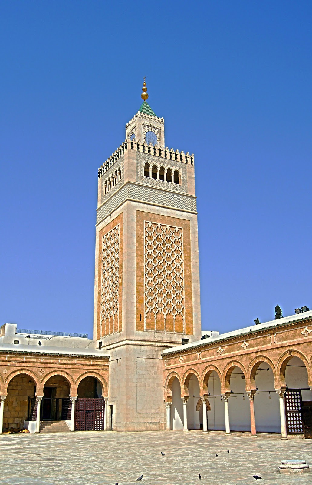 Welcome To The Islamic Holly Places Al Zaytuna Mosque Tunis Tunisia