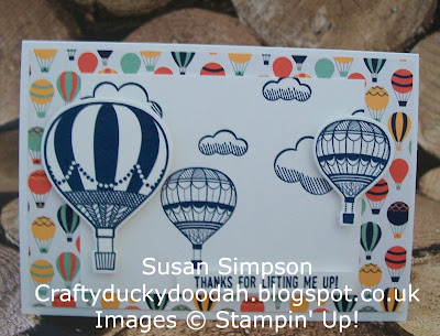 Stampin' Up! UK Independent Demonstrator Susan Simpson, Craftyduckydoodah!, Lift Me Up, Up & Away Thinlets Dies, Supplies available 24/7, A