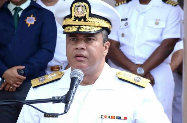 Resultado de imagen para El Comandante General de la Armada de República Dominicana, Vicealmirante Emilio Recio Segura, realizó  nuevas designaciones.