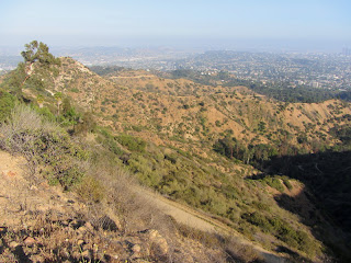View east en route to Mt. Hollywood