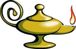 Picture of a Genie's Lamp