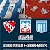 Racing e Independiente lançam campanha em suas camisas