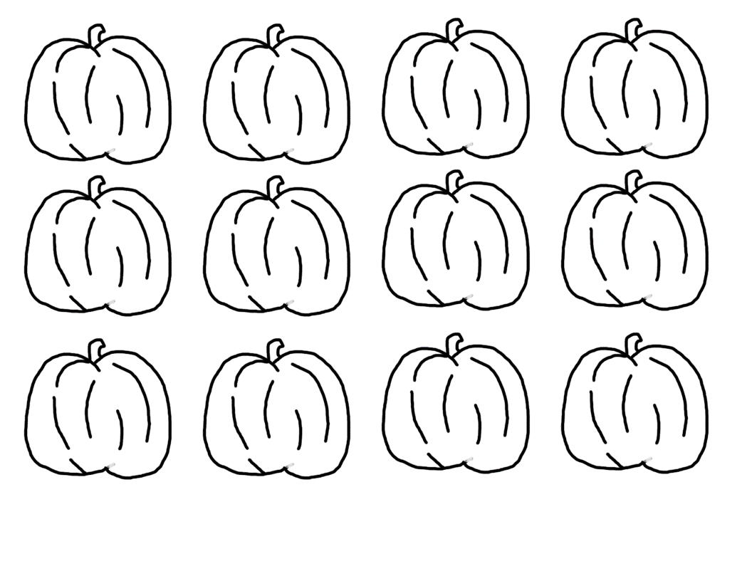 small pumpkin coloring pages-#6