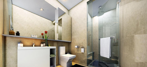 Kingsford Hillview Peak Bathroom