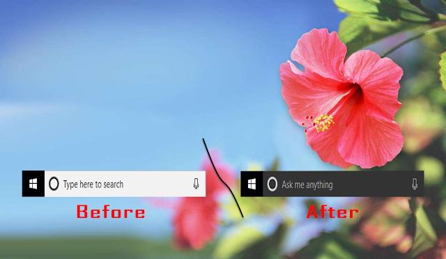 Cách sửa lỗi Cortana Search Box màu trắng trên Windows 10