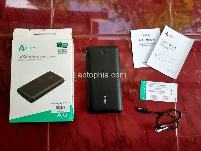 Paket Pembelian Aukey PB-N15 20.000mAh