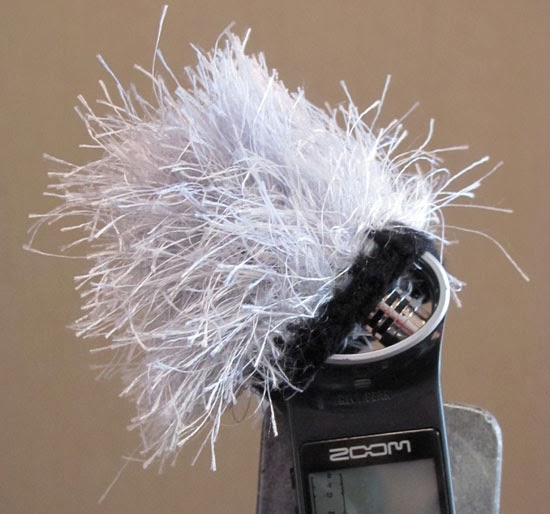 Gurney Journey Diy Knitted Deadcat Microphone Windscreen