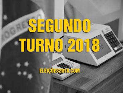 Resultado de imagem para HORÁRIO ELEITORAL PARA O 2º TURNO 2018
