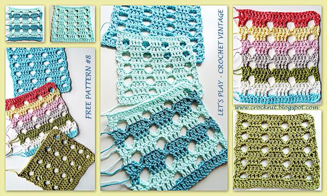 free crochet patterns, vintage crochet, pentagon, how to crochet,