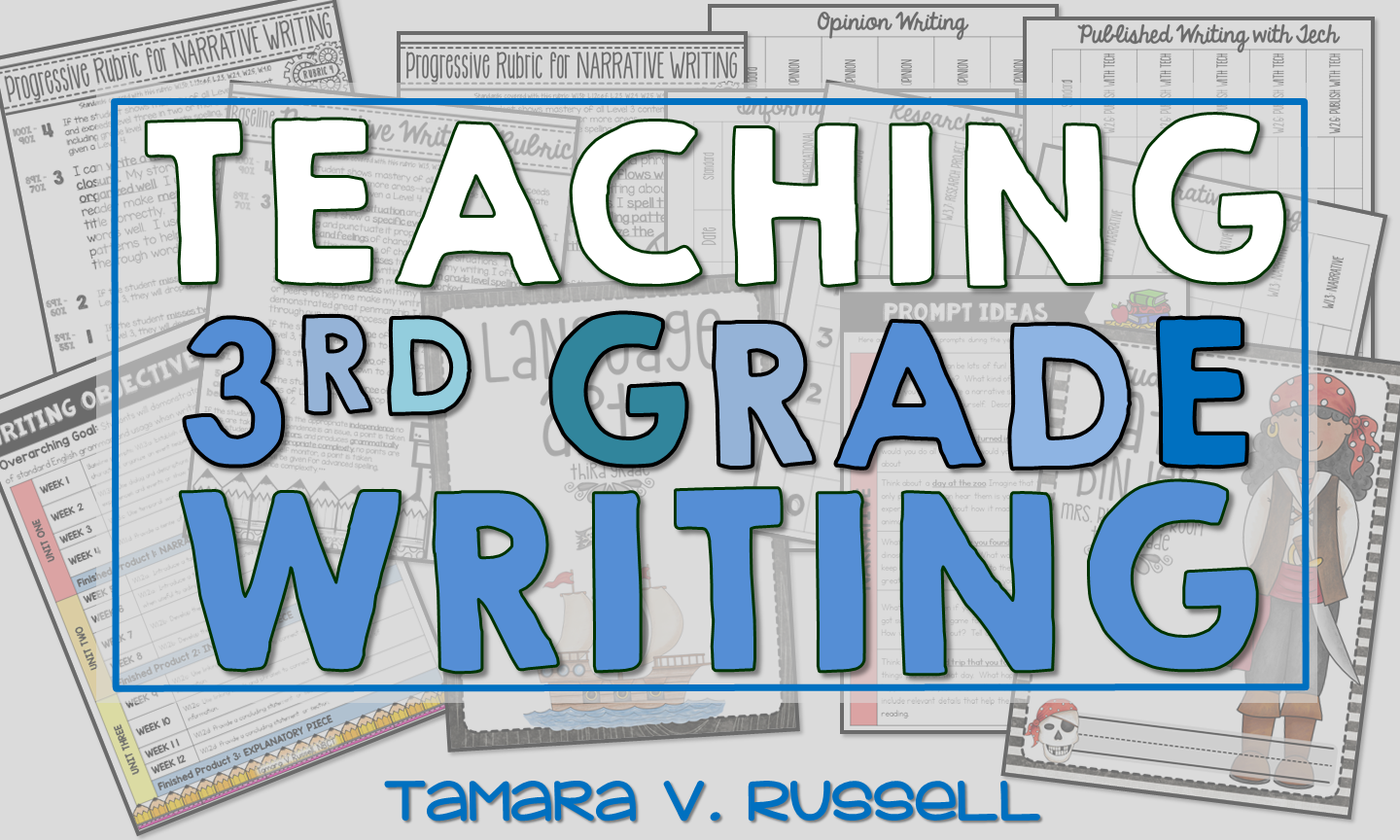 3rd grade writing The 2nd and 3rd grade materials support students at both the second and third grade levels in mastering reading, writing, and spelling skills.