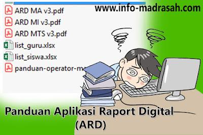 Panduan Aplikasi Raport Digital, (ARD), www.sikurma.kemenag.go.id/ard/