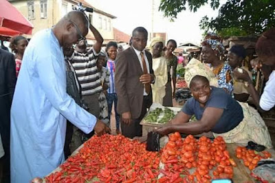 Garri goes from N200 to N100: Ekiti market woman leader forces down prices of foodstuffs in the state