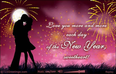 happy new year sweetheart lovely wishes
