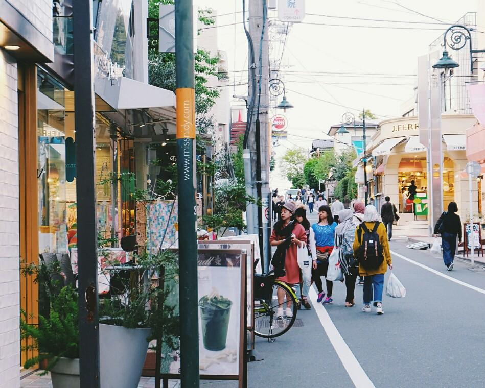 strolling around jiyugaoka