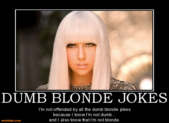 blonde lesbian jokes