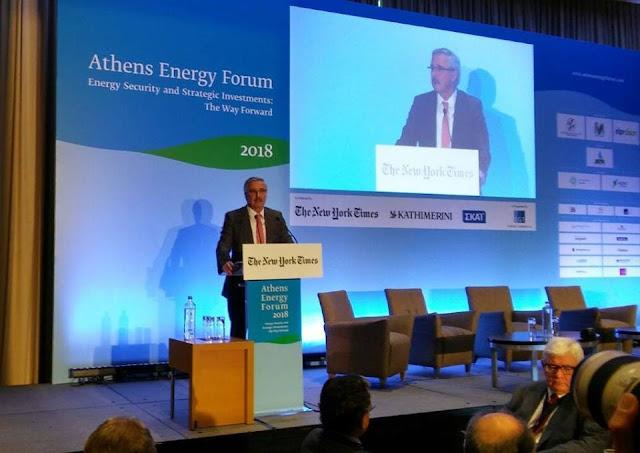 Γ. Μανιάτης: Η Ελλάδα μπορεί να αποτελέσει νέο κόμβο για την ενεργειακή ασφάλεια της Ευρώπης