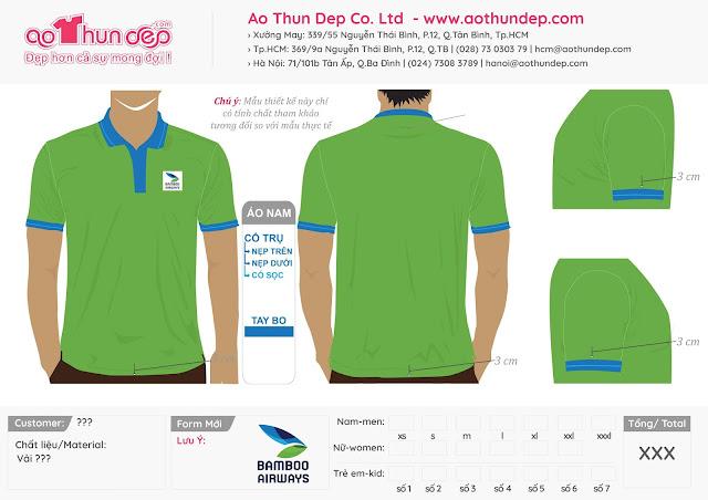 Đồng phục tiếp viên hàng không Bamboo Airways