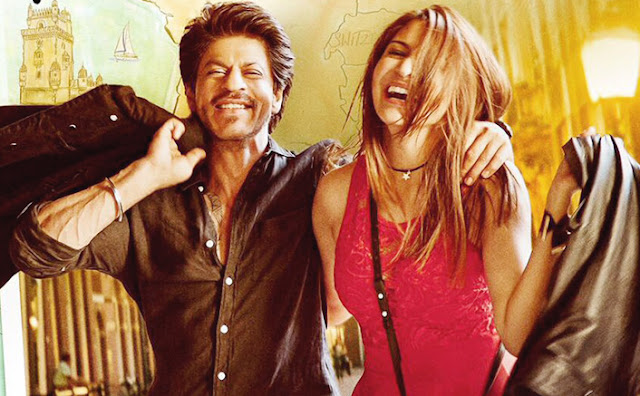 SRK and Anushka Sharma in 'Jab Harry Met Sejal'