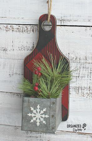 Cutting Board Christmas Decor