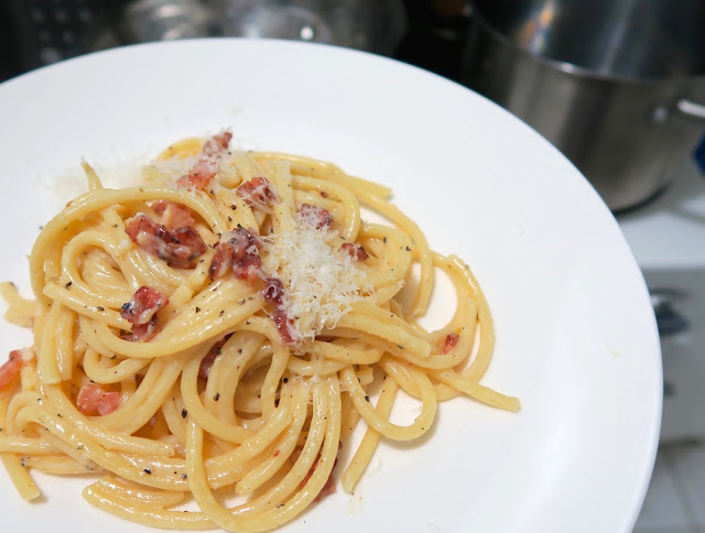 Carbonara from 'It's all Easy' by Gwyneth Paltrow.