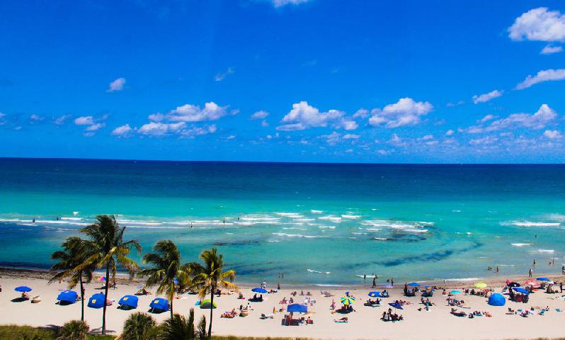 Praia Hollywood Beach Em Miami Dicas Pra