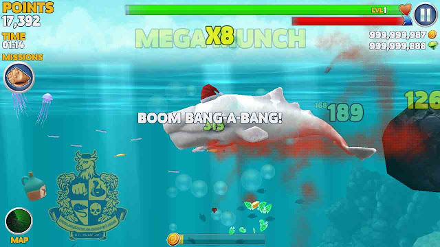 cheat hungry shark evolution unlimited gems