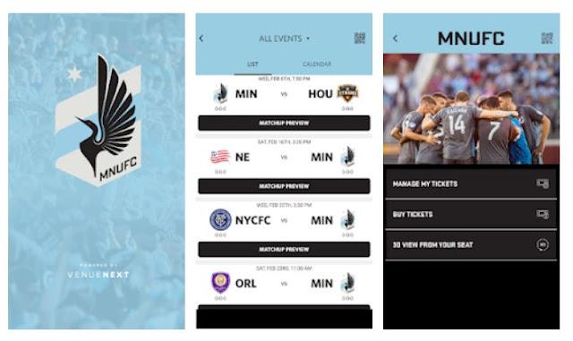 Minnesota United FC Mobile App