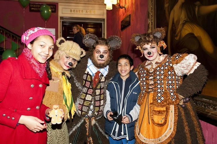 Shrek The Musical Costumes Three Bears